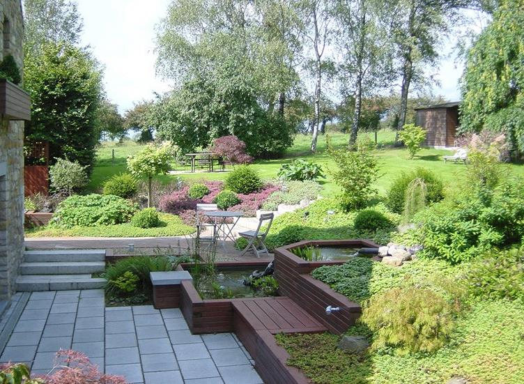 Comment bien am nager son jardin en pente for Creer un parterre zen